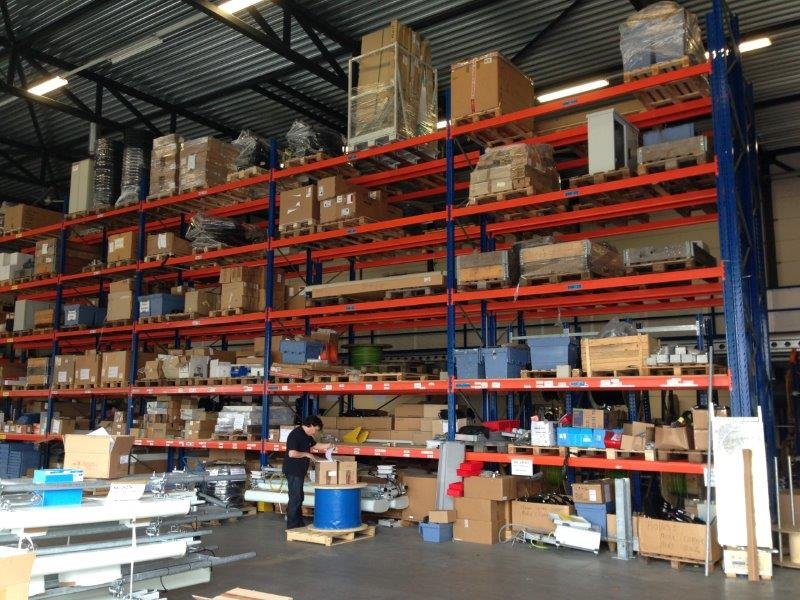 Spie Tussenvloer Project Palletstelling