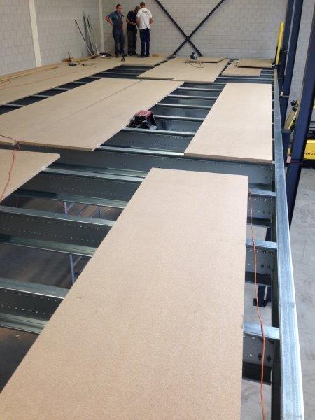 Schuimrubber Tussenvloer Project Vloerplaten